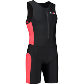 Dare2Tri Frontzip Trisuit Miehet, black-red